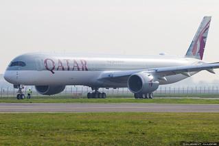 Qatar Airways Airbus A350-1041 cn 088 F-WZNR // A7-ANA