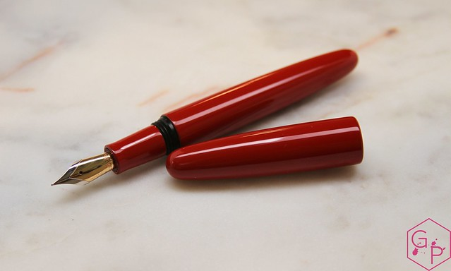 Review: @Wancher Red Urushi Ebonite Dream Pen Fountain Pen