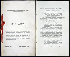 The Representation of the People Act, 1918