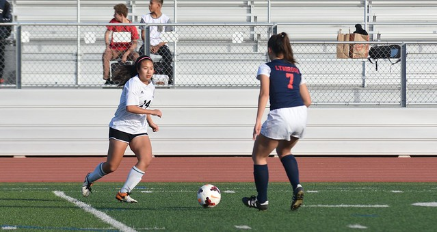 Girls soccer vs. Lynbrook HS 2/4/18