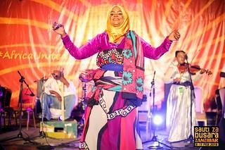 Zanzibar Taarab Ensemble (Zanzibar) at SzB2018 (photo Link Reuben)
