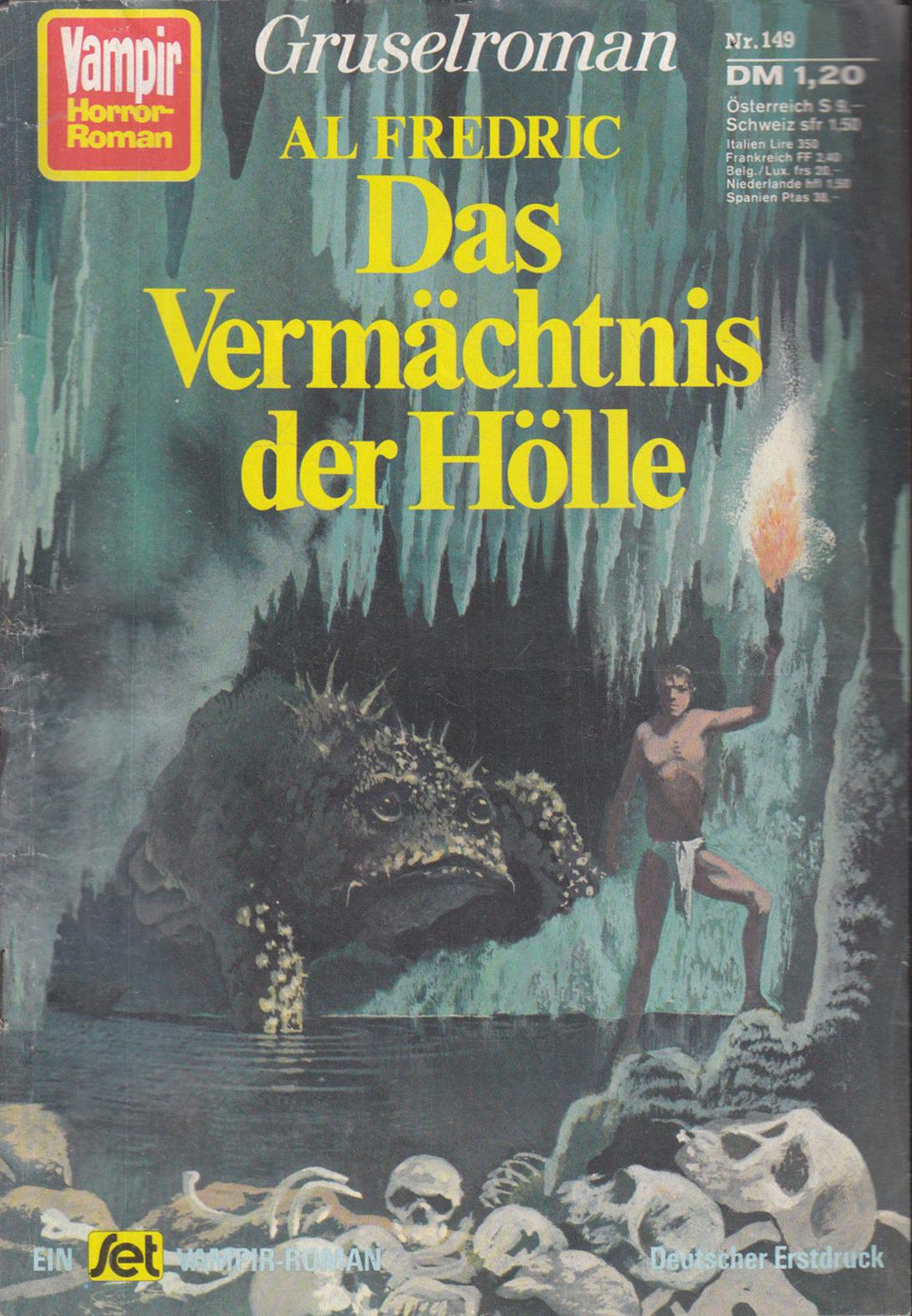 Karel Thole - Vampir Horror Roman - 149