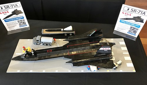 Lego Ideas SR-71A out for Brickvention 2018