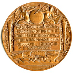 medal-WCE medal St. G-Barber award Lochmann q 76.4 mm r