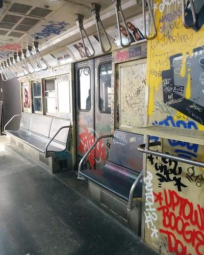 J Train (1) #newyorkcity #newyork #manhattan #subway #train #priverevaux #graffiti #latergram