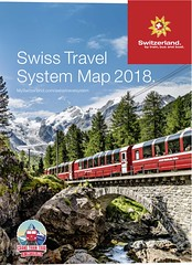 Swiss Travel System Map 2018