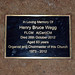 Henry Bruce Wegg 2012