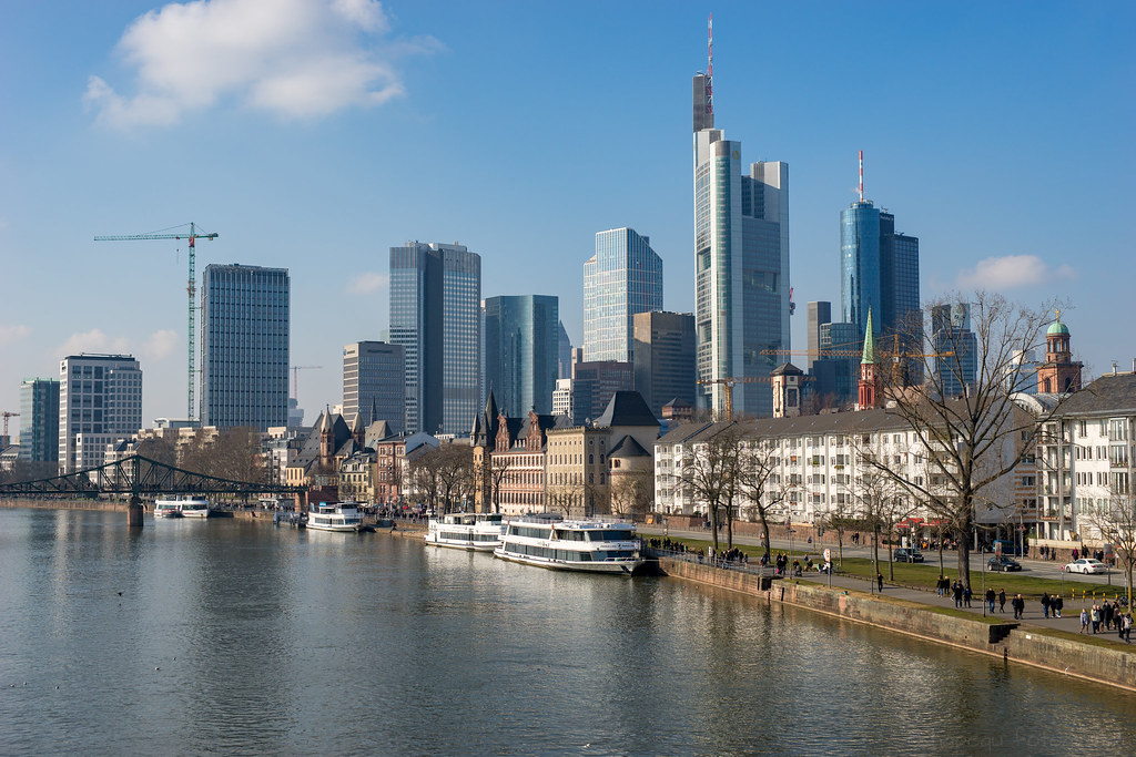 Discuss best modern european skyline part3 page 602 frankfurt skyline by hans peter querbach auf flickr altavistaventures Image collections