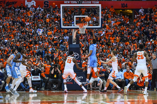 SU Men's Basketball Vs. UNC