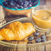 Croissants and Blueberries for Breakfast