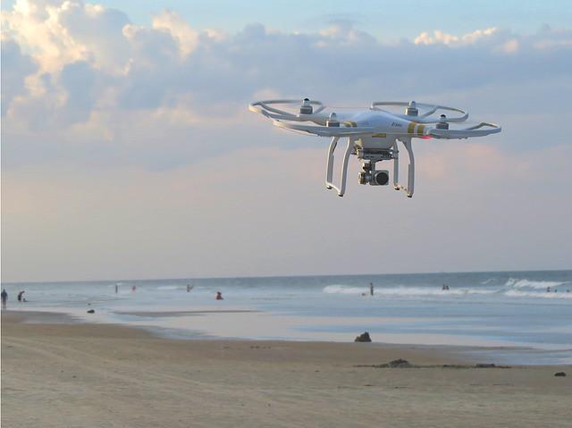beach-drone