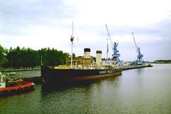 Suur Tõll Icebreaker. Pärnu, Estonia