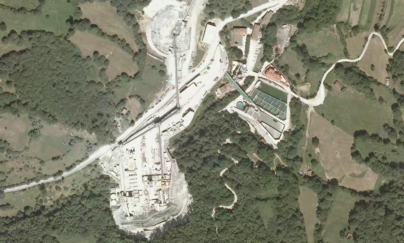 túneles de pajares, emboquille norte, asturias, grifo grohe, antes, urbanismo, planeamiento, urbano, desastre, urbanístico, construcción