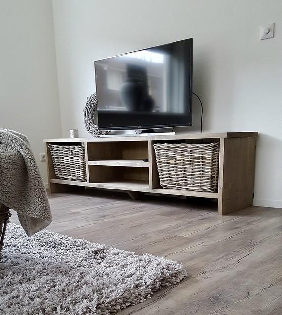 TV meubel strak landelijk