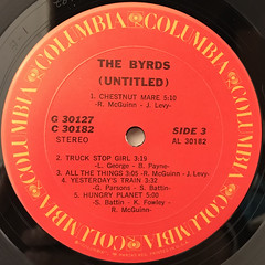 THE BYRDS:(UNTITLED)(LABEL SIDE-C)