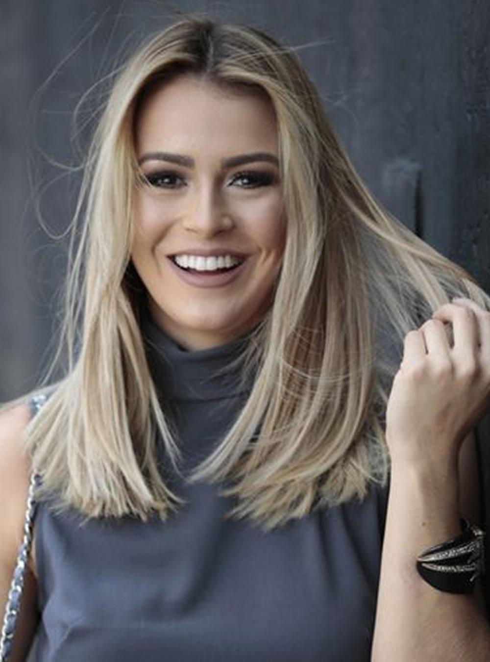 Medium Length Haircuts and Hair Color Ideas - Medium Hair 7