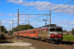7258 sur le TER 876414 - Photo of Bellegarde