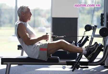 Tập luyện giúp phục hồi chức năng tim cho người bệnh suy tim