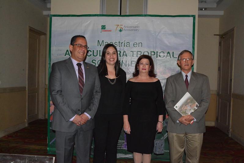 Lanzamiento Maestría en Agricultura Tropical Sostenible