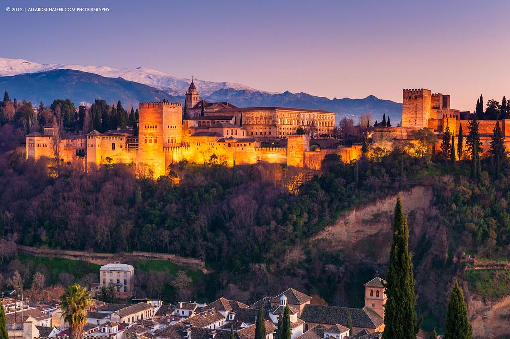 Hotels Near Alhambra Palace Granada Spain