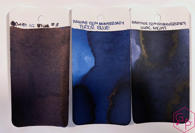 Ink Shot Review KWZ Ink IG Blue #3 @BureauDirect 1