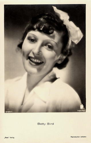 Betty Bird in Was bin ich ohne Dich (1934)