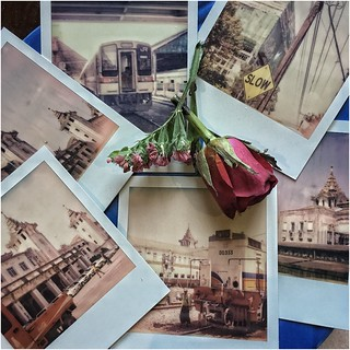 Instant Memories ... Yangon Railways Station (Yangon, Burma)