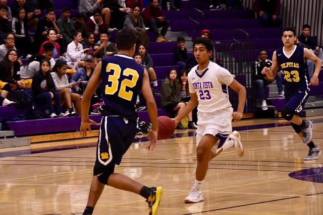 Boys Basketball vs Milpitas