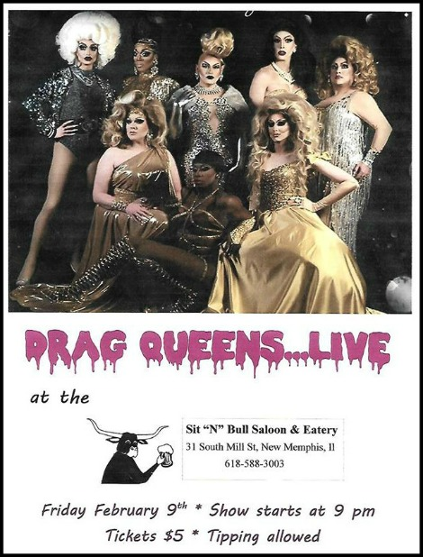 Drag Queens Live 2-9-18