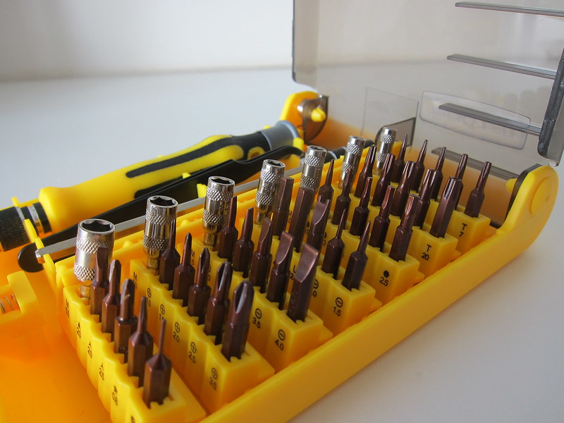 Jackyled 45-in-1 Precision Screwdriver Toolkit - Screwdriver Bits
