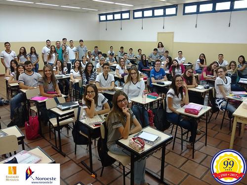Início de aulas 2018