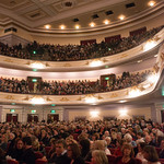 Full house at the Usher Hall | © Alan McCredie