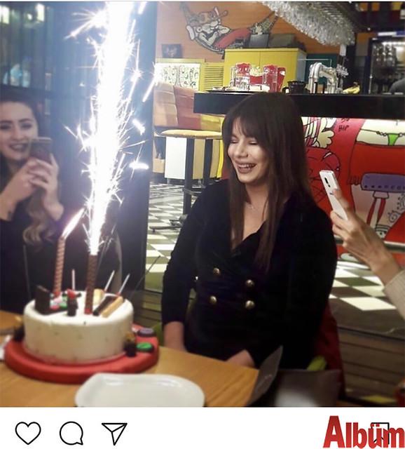 Nadire Barlin, Alanya Leman Kültür'den doğum gününü kutladı.