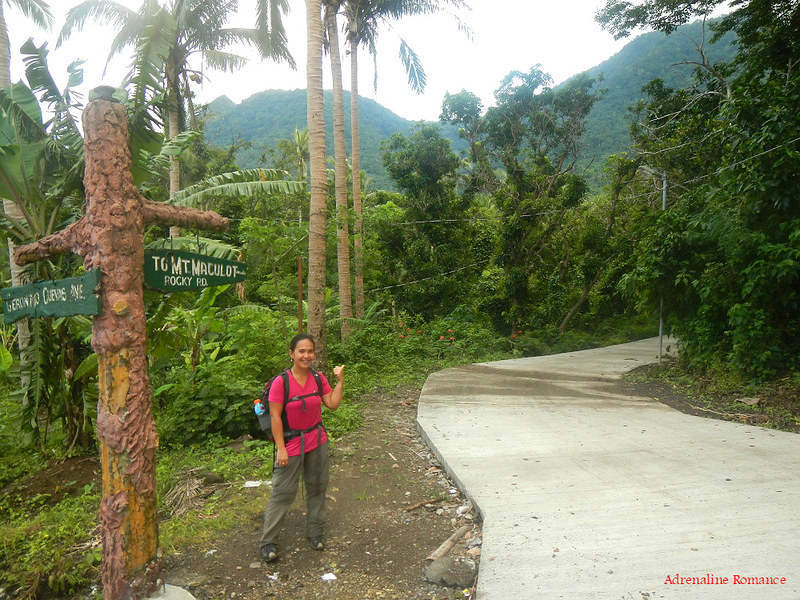 Road to Mt. Maculot