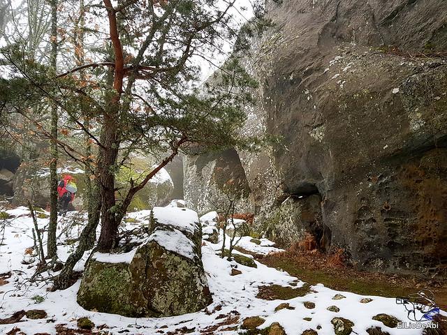 Necrópolis de Revenga y La Cerca con nieve 20