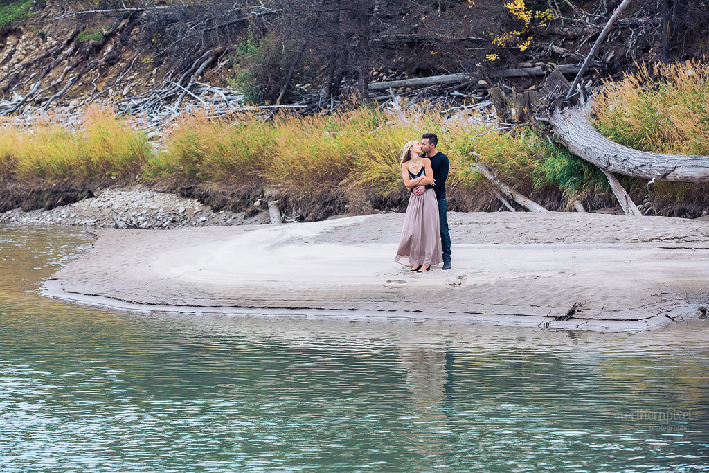 Kinbasket Lake Engagement Session