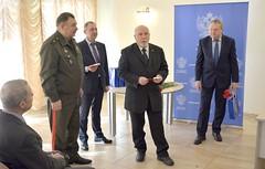 Визит делегации ветеранов из Клайпеды