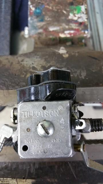 XL Tillotson carburetor adjustment | -- HOUSE OF -- HOMELITE