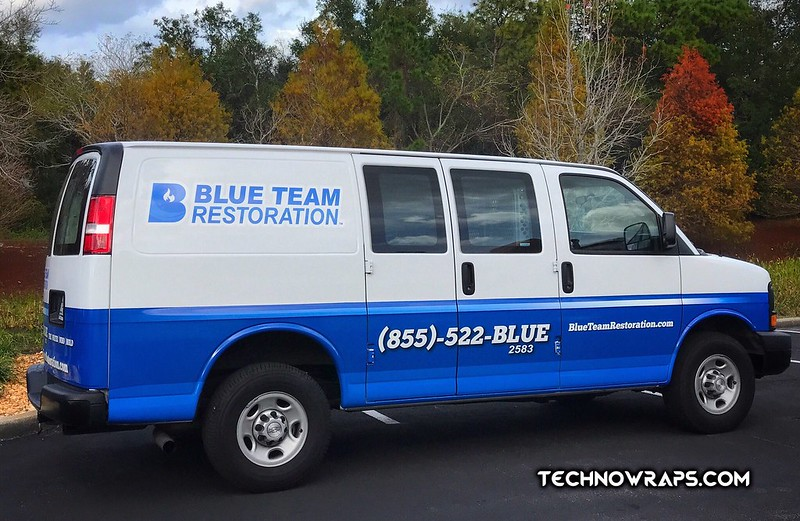 Van graphics by TechnoWraps in Oviedo, Florida