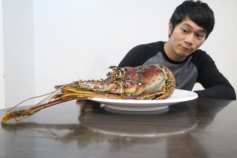 加勒比海野生大龍蝦-龍蝦美食-17度c隨拍 (8)