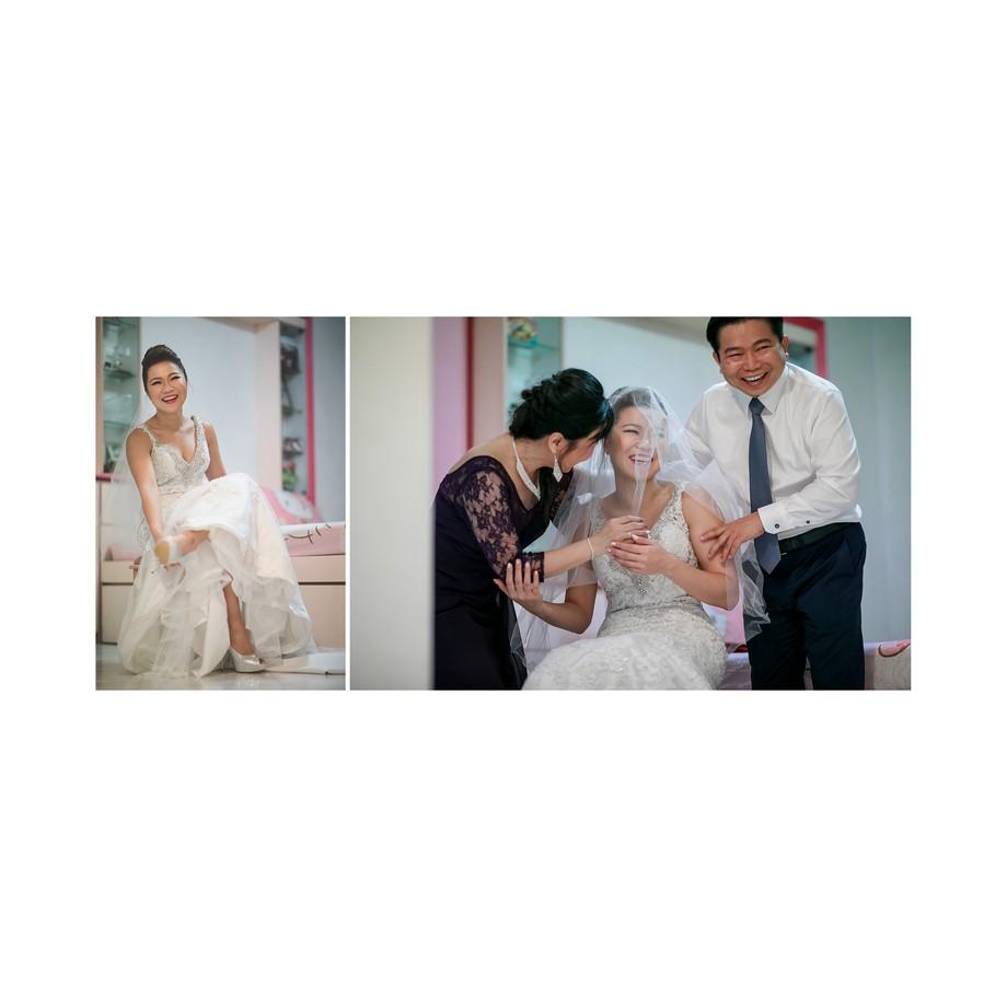 Wedding day celebration of andy & joyce - Photography by Raymond Phang
