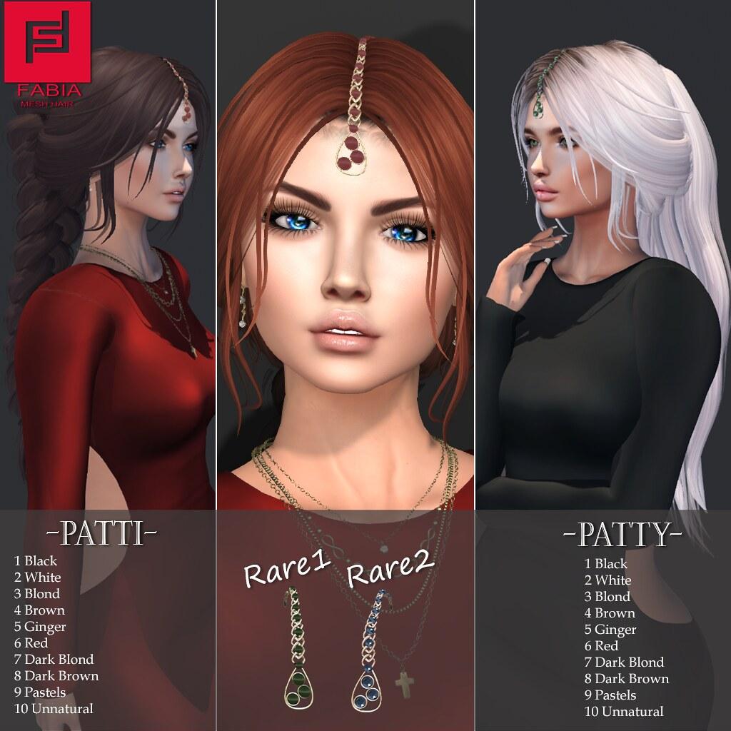 -FABIA- Mesh Hair   <Patty/Patti>