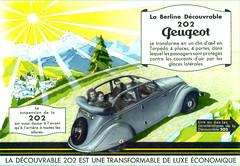 Peugeot 202 Découvrable (1939)