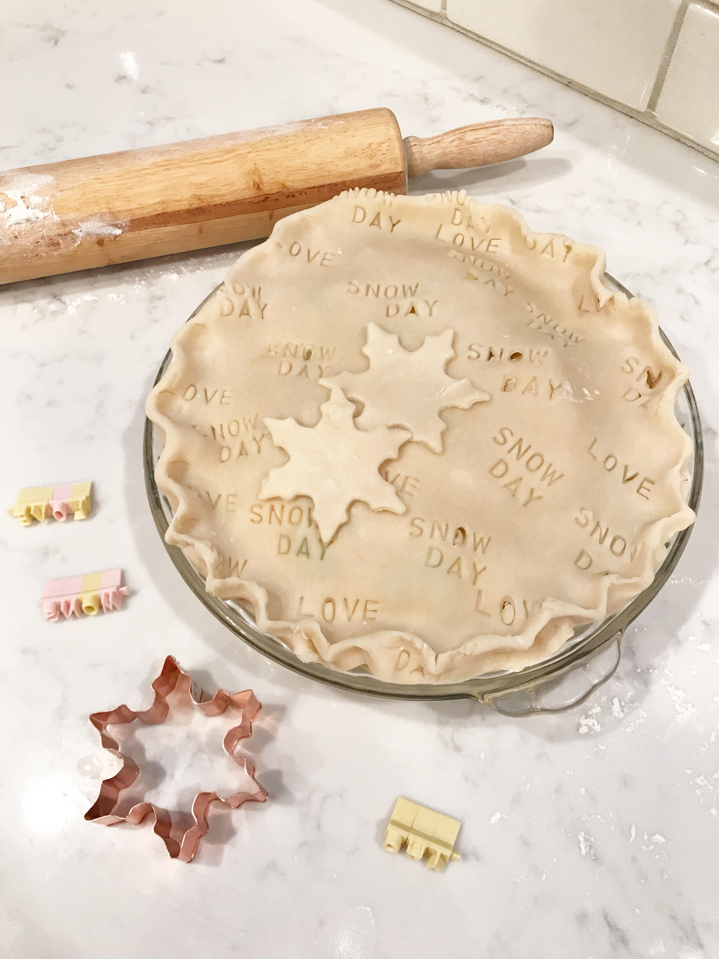 snow day pie