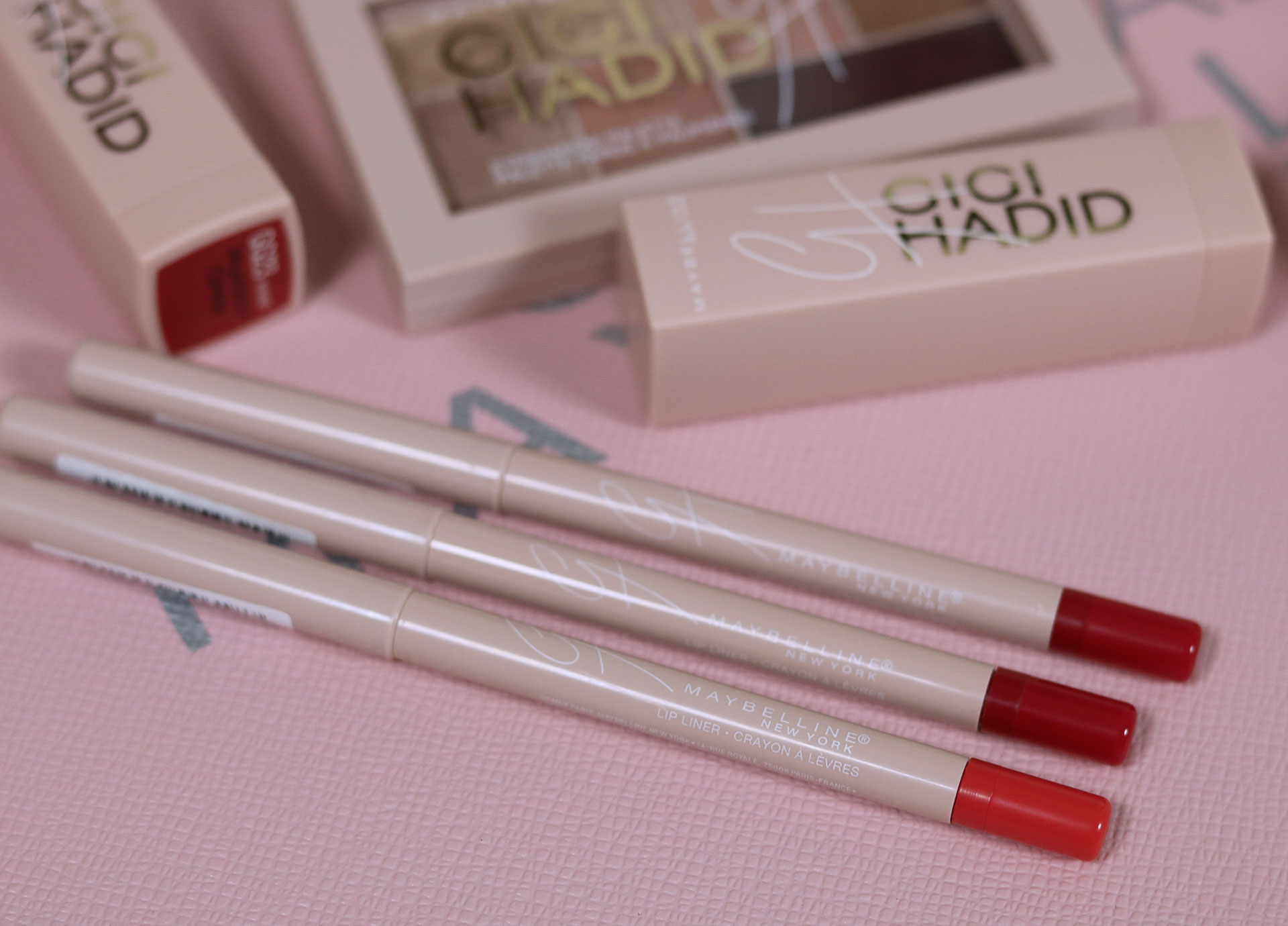 35 Gigi Hadid Maybelline Collection Review Swatches Photos - Gen-zel She Sings Beauty