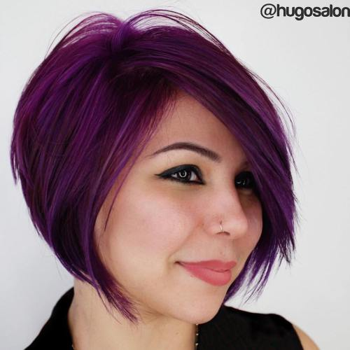 Sassy Hairstyle Bobs for Round Faces
