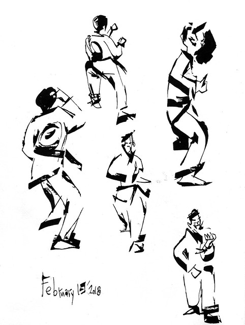 Sketchbook #112: My Life Drawing Class