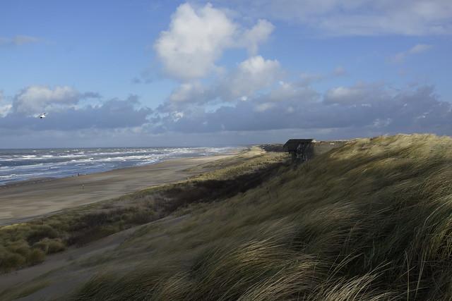 Wind, sun, sea and sand