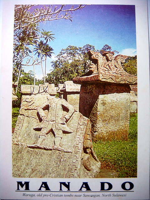 Waruga, old-pre Christian tombs, Sony DSC-T100