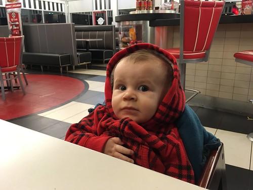 Logan in Steak N Shake
